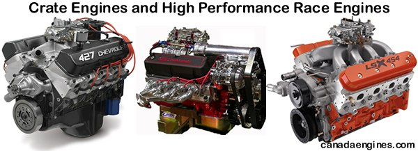 High performance crate engines - small blocks, big blocks