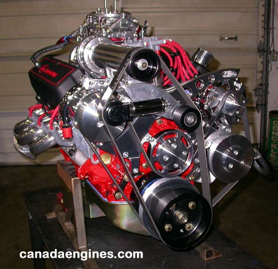 363 Cubic Inch Ford High Performance Engine Installed In A 1967 Mustang