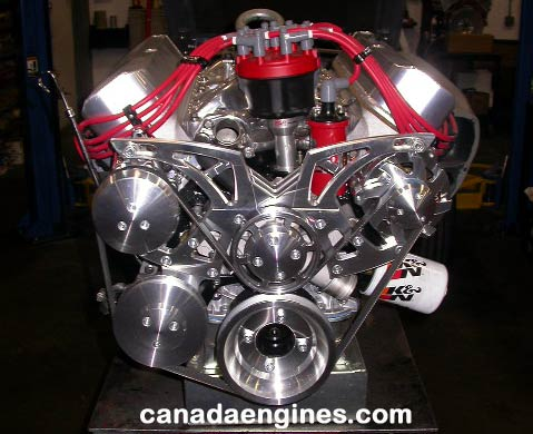Cubic Inch Ford Stroker High Performance Engine on Gm Performance Crate Engines