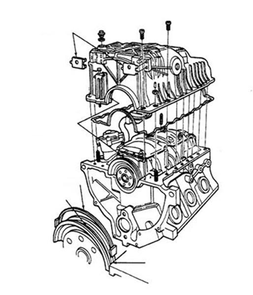 4_Ford_4liter_1990-1993_engine_oil_pan_drawing