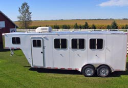 We service horse trailer brakes