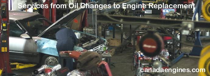 Oil Changes to Engine Replacements