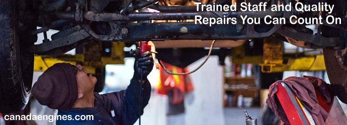 Trained Auto Mechanics Ensure 