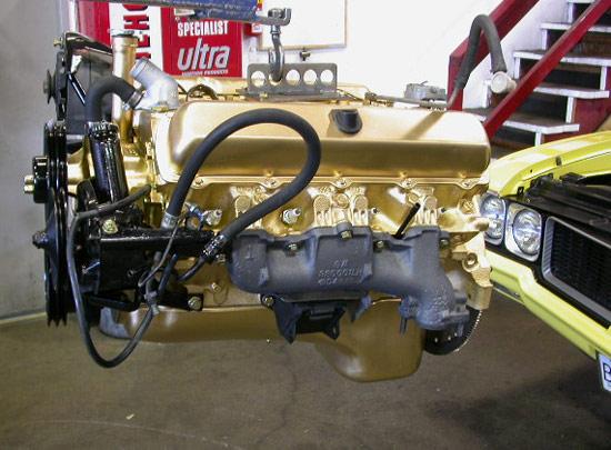 Ci Oldsmobile High Performance V Engine on Ford V6 Performance Crate Engines