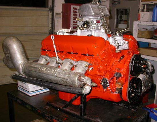 big block 396 chevy jet boat engine