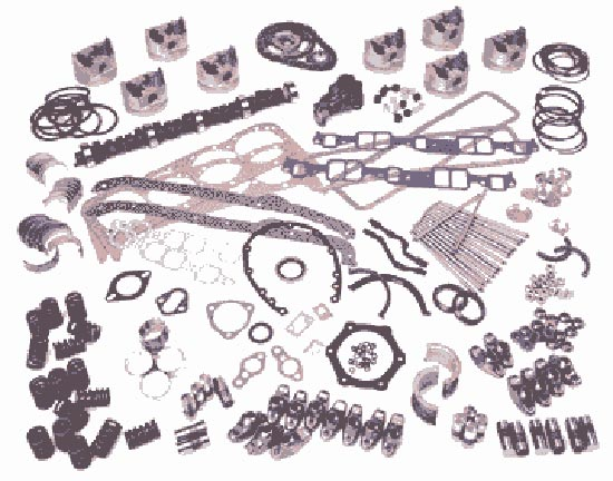 Fel-Pro gasket sets and spare engine parts